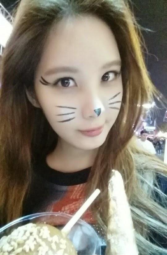 Foto Seohyun SNSD Jadi Kucing Imut