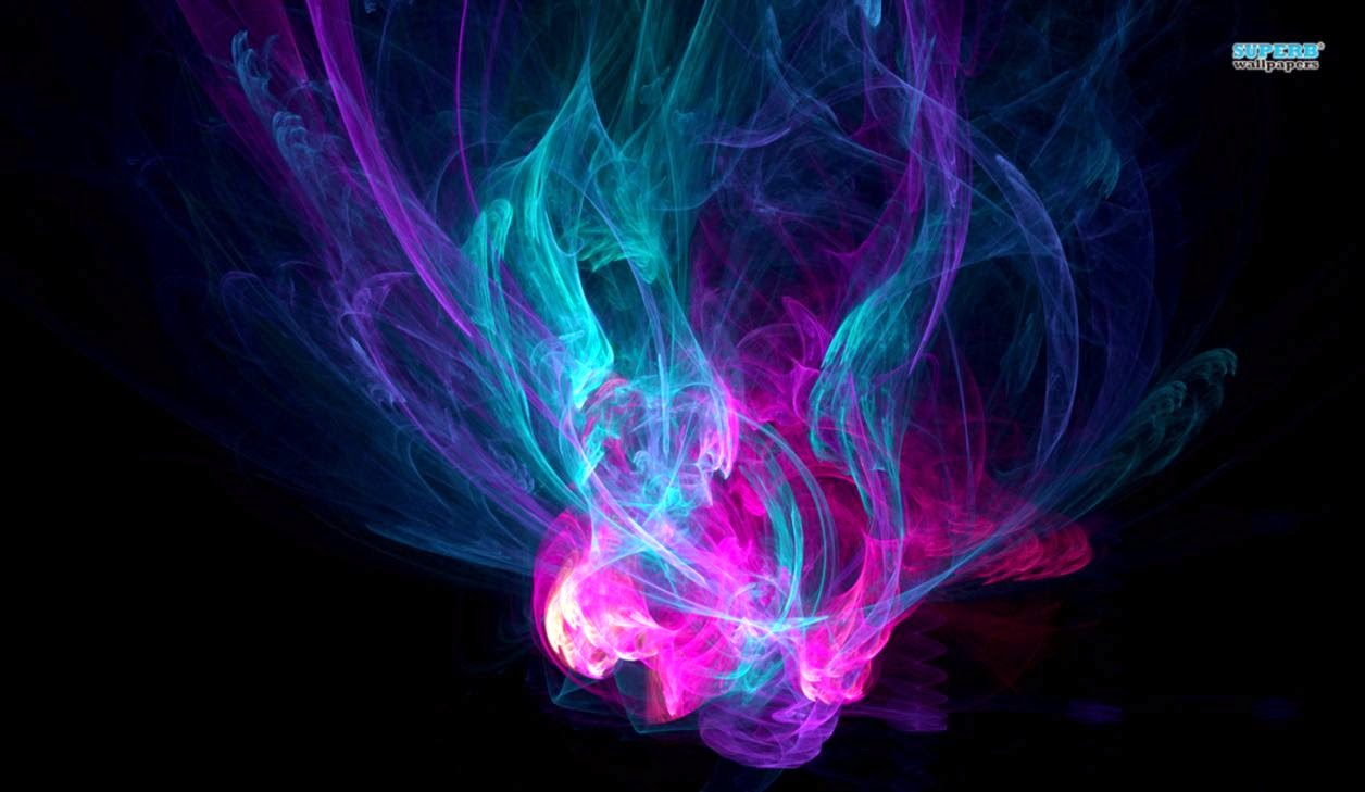 Abstract Rainbow Smoke Wallpaper | Amazing Wallpapers