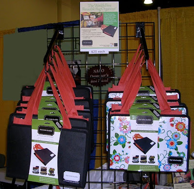 organizers for reusable tote bags