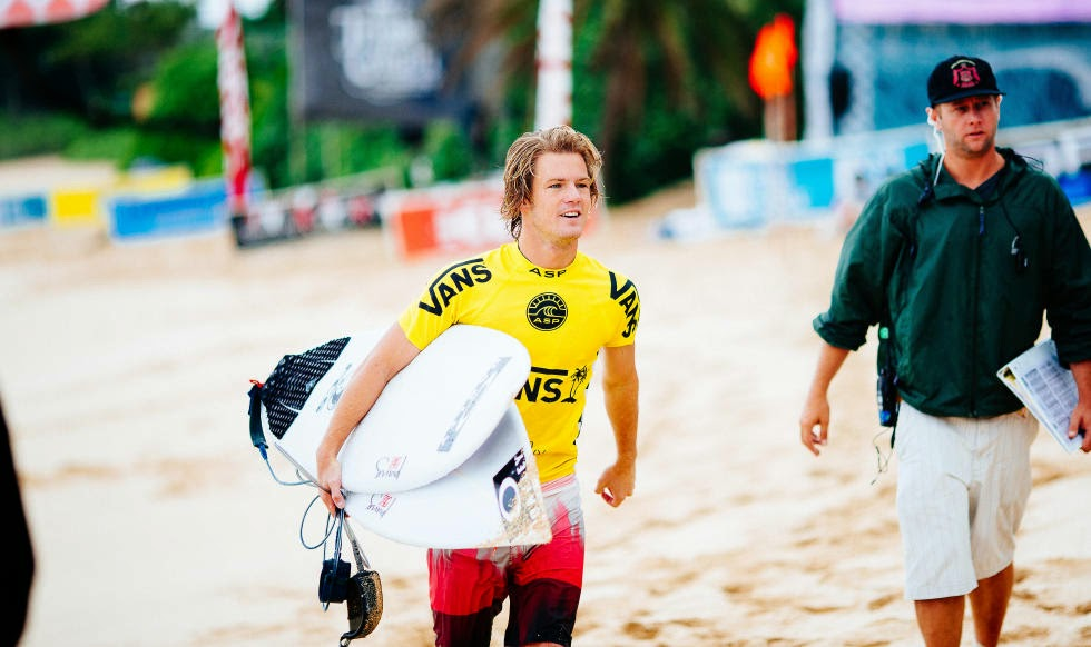 24 Vans World Cup of Sufing 2014 Billy Stairmand Foto ASP