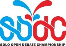 Solo Open Debate Championship