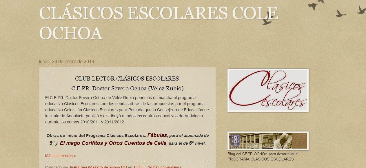 CLÁSICOS ESCOLARES DEL COLE OCHOA