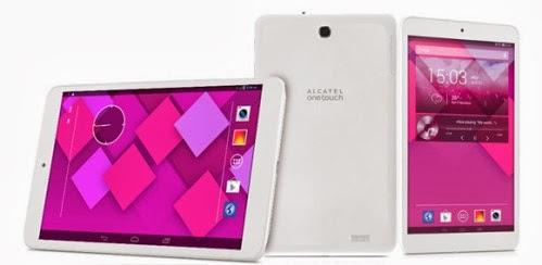 Tablet 3G da otto pollici in alta definizione per il 2014 di Alcatel