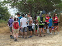 El darrer avituallament de la caminada a prop del Camp de Golf Montbrú-Moià