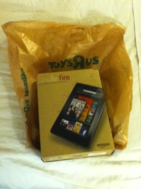 Kindle Fire I got .. photo