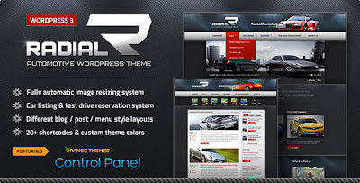 Radial - ThemeForest Premium Automotive & Tech WordPress Theme