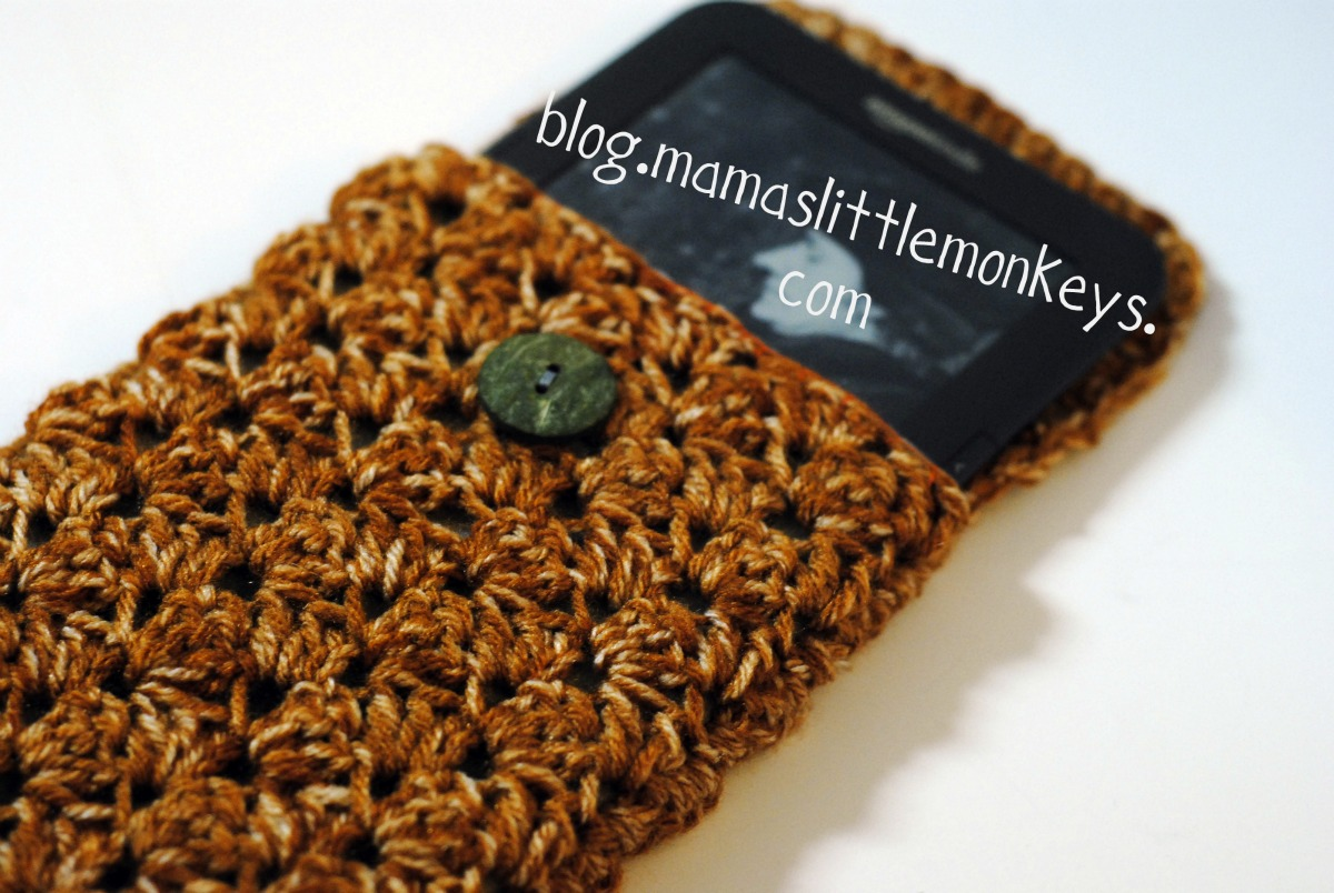 Mullin Avenue Workshop: Crochet Kindle Cover--Free Tutorial