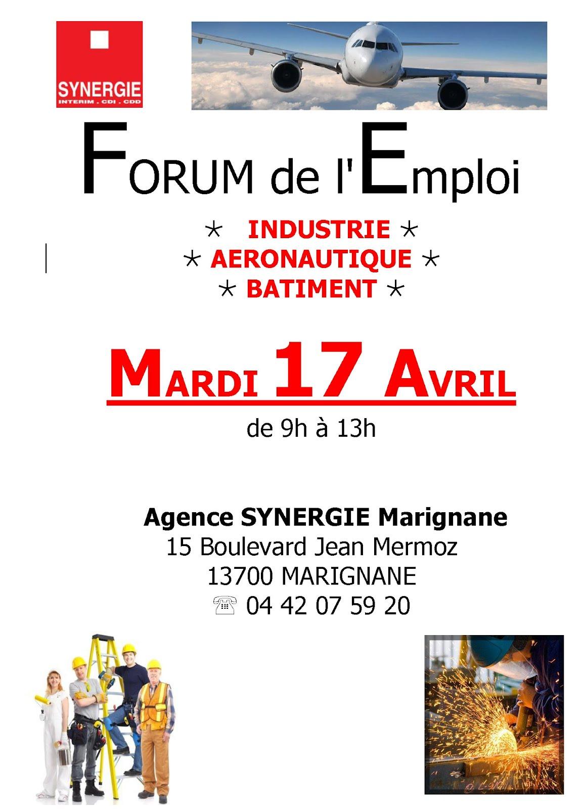 forum emploi chez synergie marignane