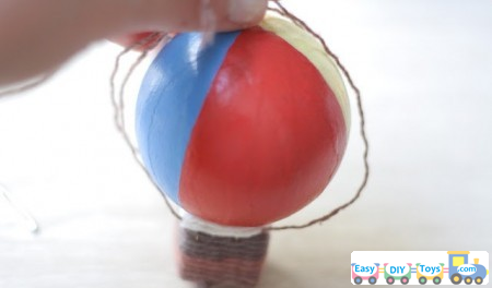 Handmade Toy Air Balloon easy