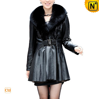 Women Warm Sheepskin Coat