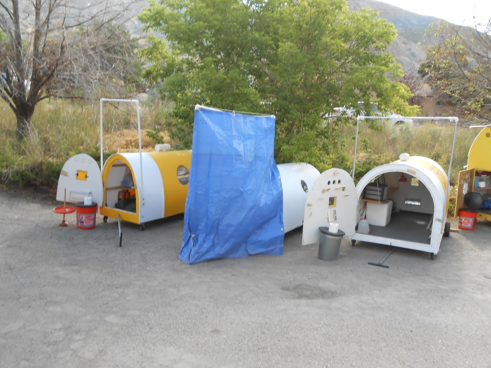 Pods For The Homeless Shelter : Build a dignity roller pod for the homeless pictures of