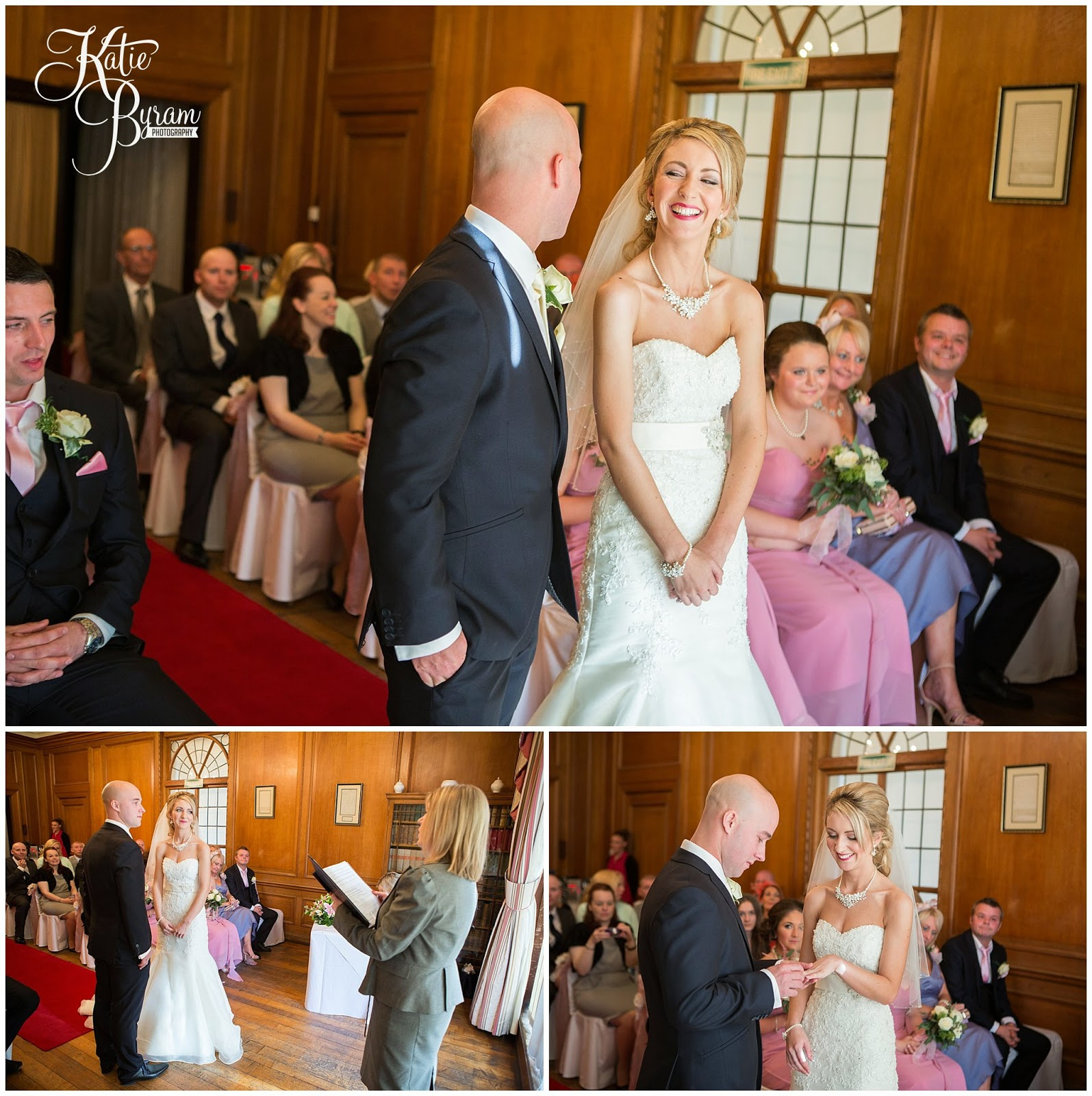 kirkley hall wedding, katie byram photography