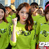 T-ara's Eunjung and Hyomin at Adidas' miRun event in Busan
