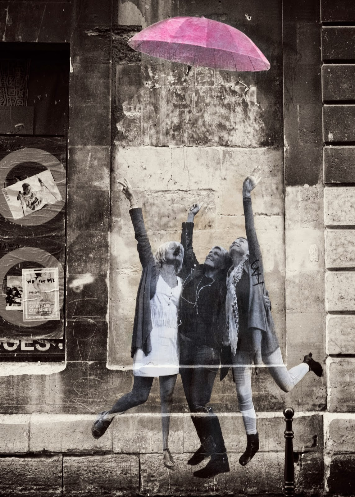 Galia Alena Travel Photography Paris graffitti