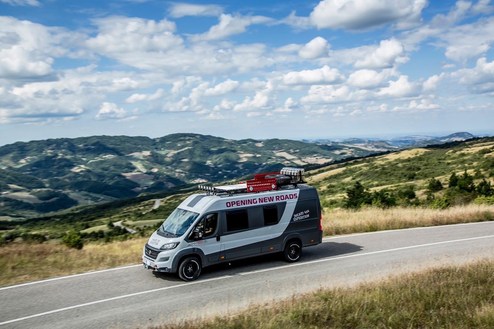 Fiat Ducato Camper Van 4x4 Expedition