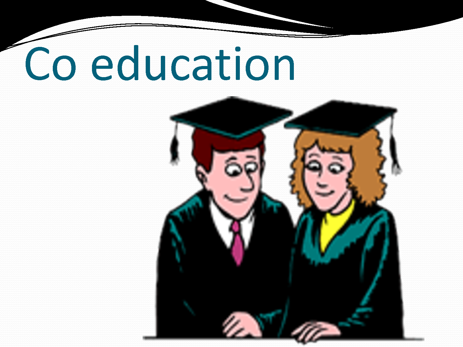what is the meaning of co education