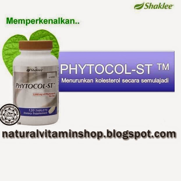PhytoCol-ST Shaklee menurunkan lemak kolestrol