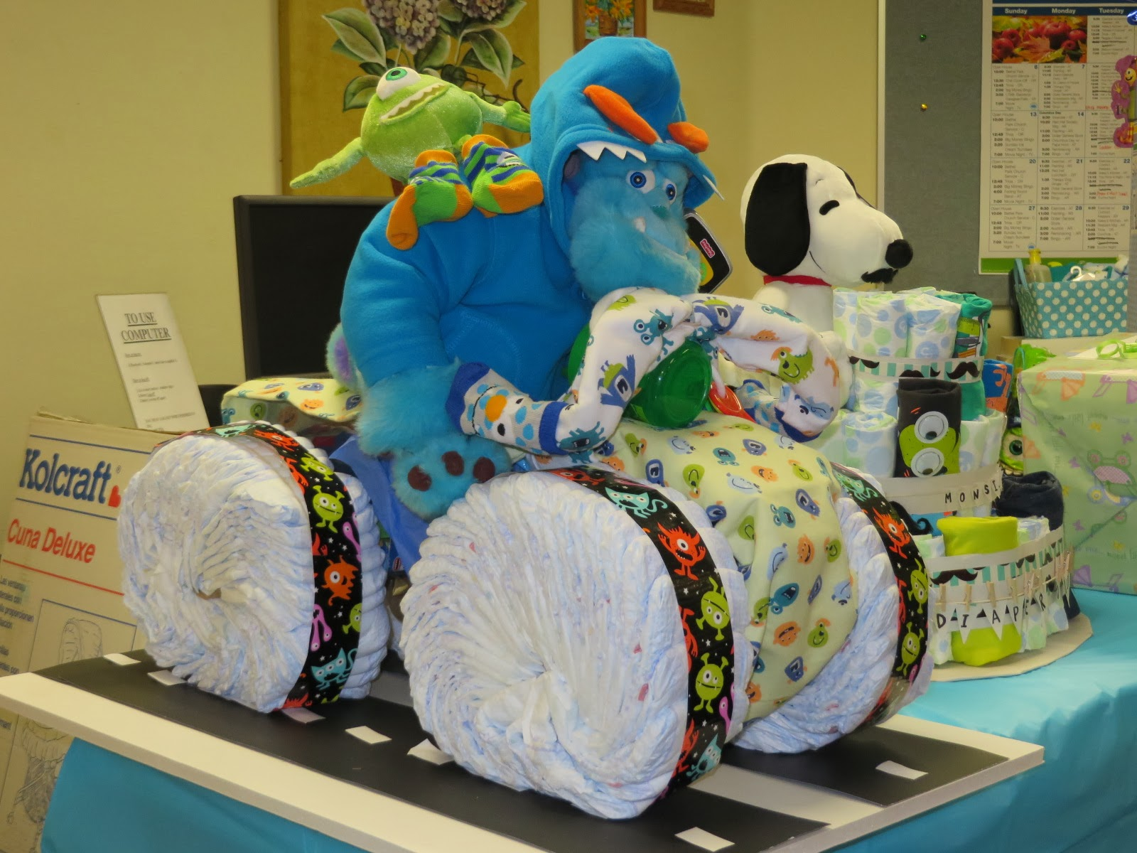 It 39 S A Party Ful Life Monsters Inc Baby Shower