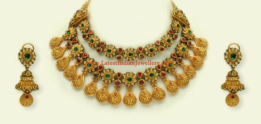 Royal Indian Jewellery Set