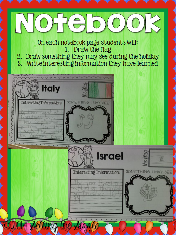http://www.teacherspayteachers.com/Product/Holidys-Around-the-World-Notebook-Passport-and-crafts-1605689
