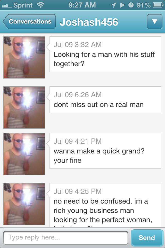 best dating website first message
