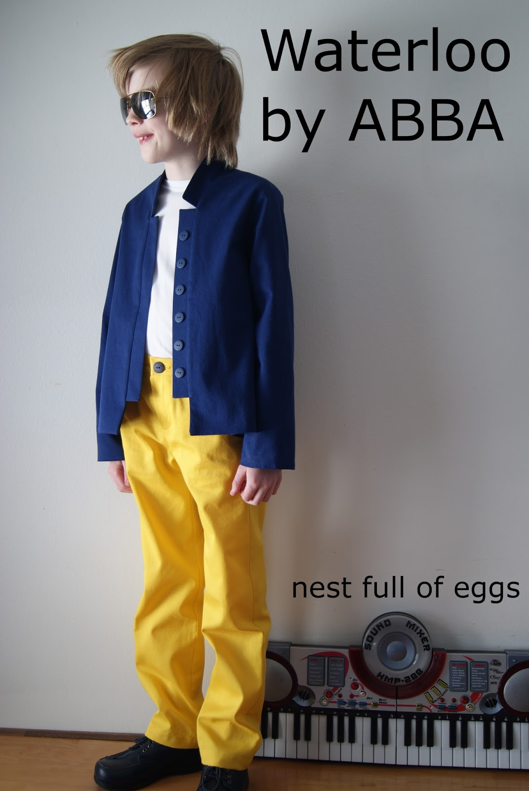 Waterloo by ABBA for Sew In Tune Winter 2014 by nest full of eggs