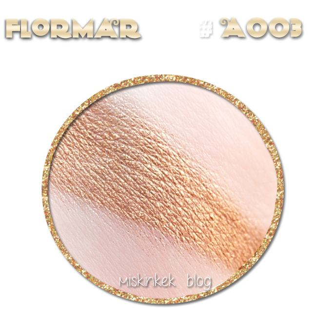 Flormar Metallic Golden Eye Shadow #A003