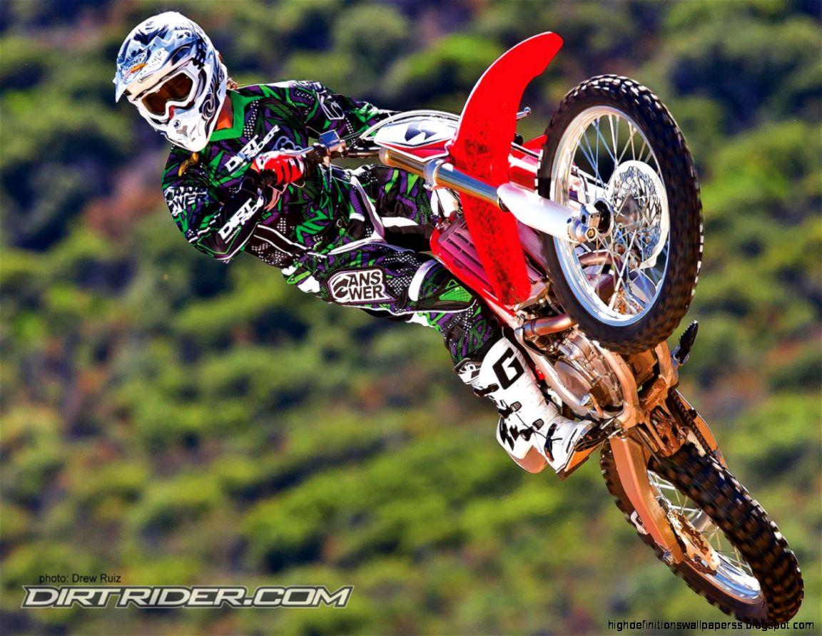 Bike Motocross Hd Wallpaper