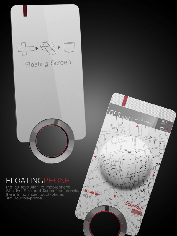 3D Floating Phone