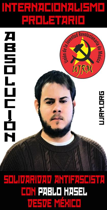 Solidaridad Antifascista con Pablo Hasel