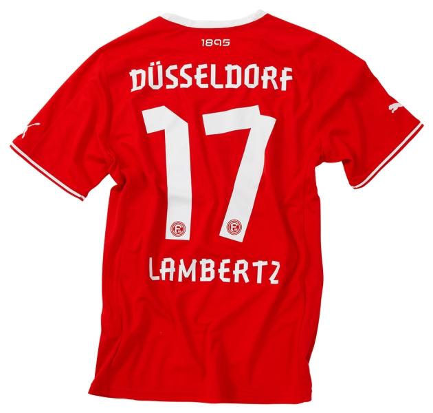 Fortuna Dusseldorf thuisshirt 2013-2014