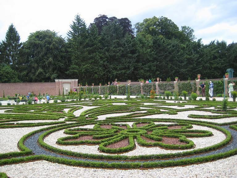 Jardines de het loo el tesoro vegetal y geom trico for Jardin geometrico