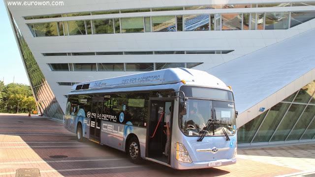 Autobús de hidrógeno en Corea