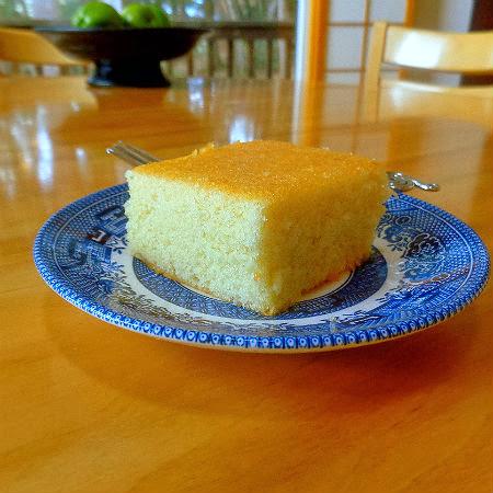 One Perfect Bite: Hot Milk Sponge Cake