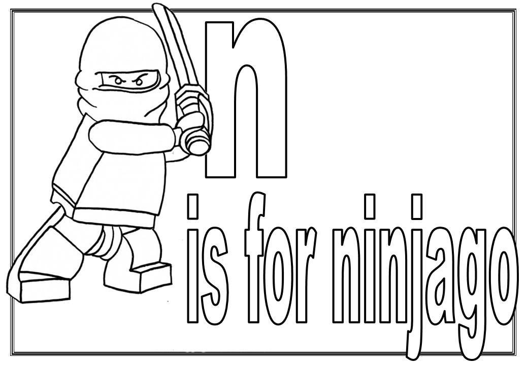 lego ninjago coloring pages print - photo#32