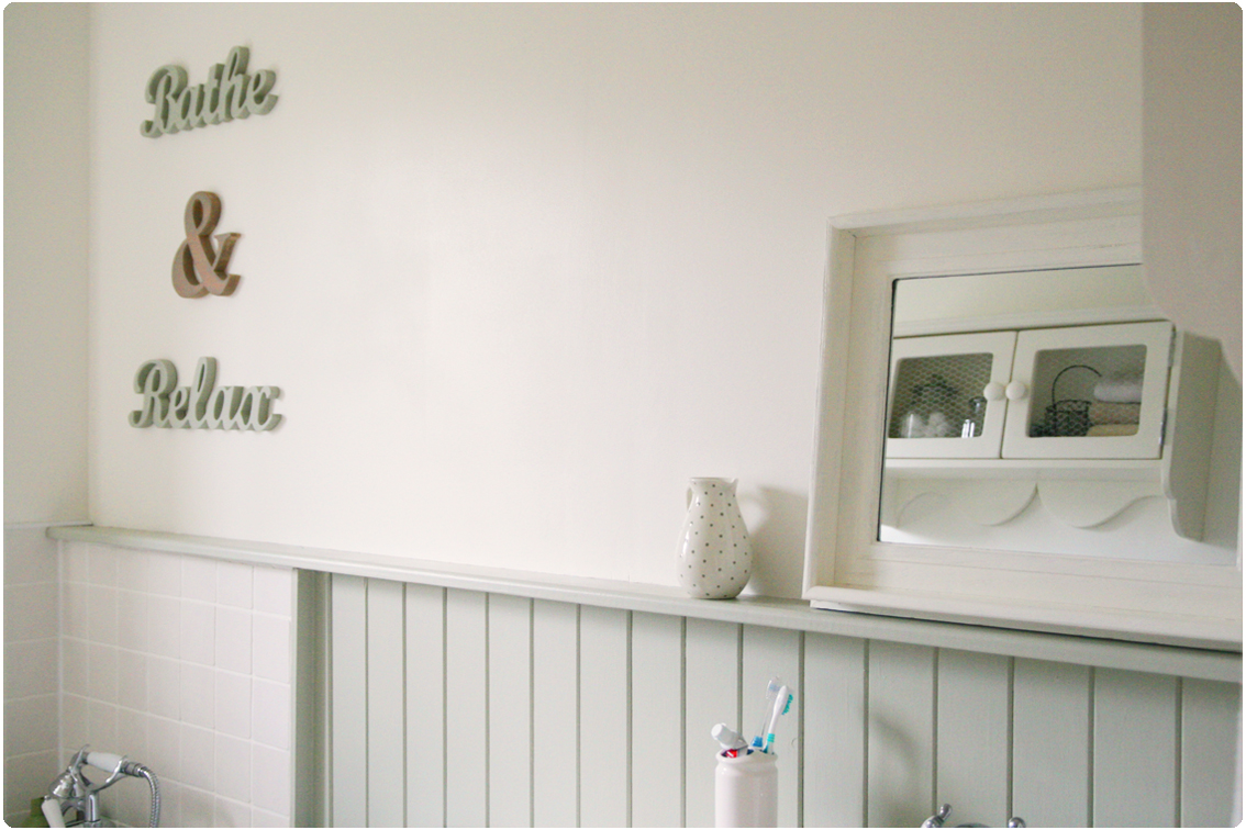 Countrykitty: family bathroom   finishing touches