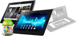 Xperia Tablet S Dapatkan Update Jelly Bean 4.1