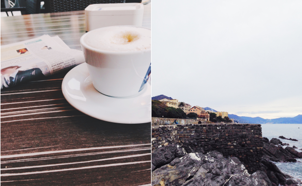 journal, diario, snapshot, cappuccino, mare, giornale, mattina, lunedì, lunedì mattina, genova, Italy, Liguria, blog, racconto
