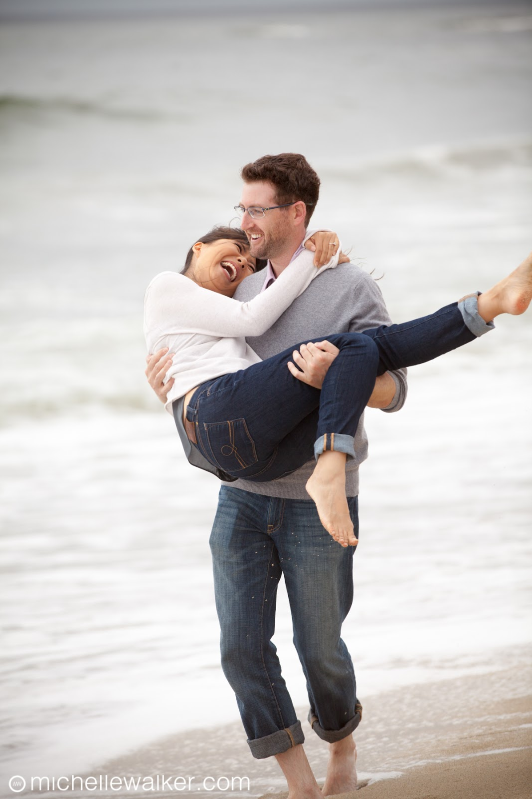 Michelle Walker Photography The Ritz-Carlton Half Moon Bay Engagement