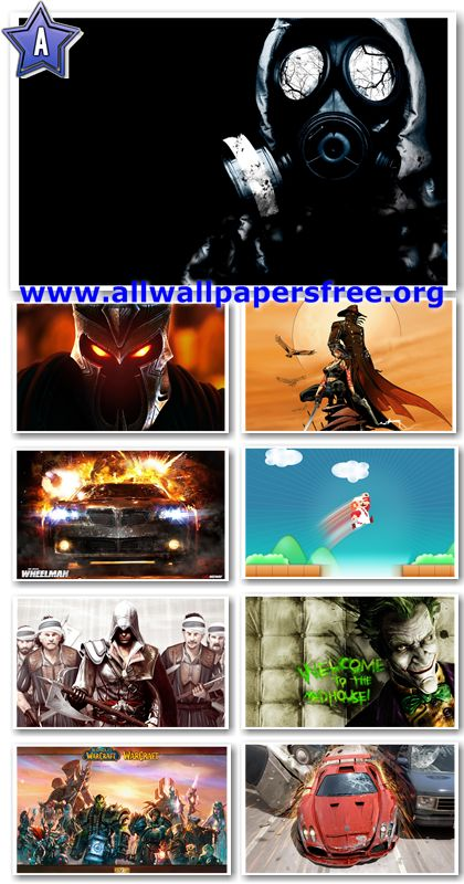 140 Amazing Games HD Wallpapers 1920x1200 Px