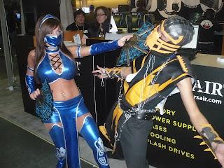 Mortal Combat PAX Cosplay