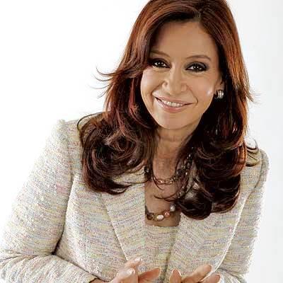 Foto de Cristina Fernández de Kirchner con linda sonrisa