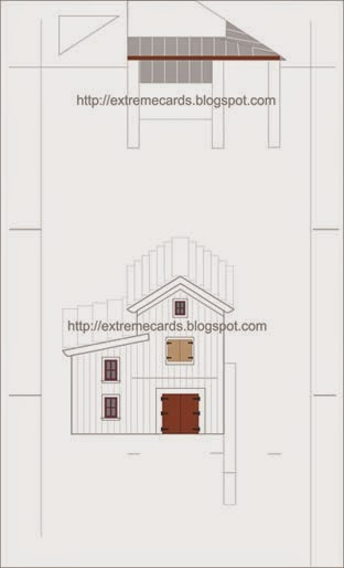 barn pop up template