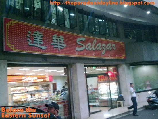 Salazar Bakery along Ongpin Street, Binondo Chinatown