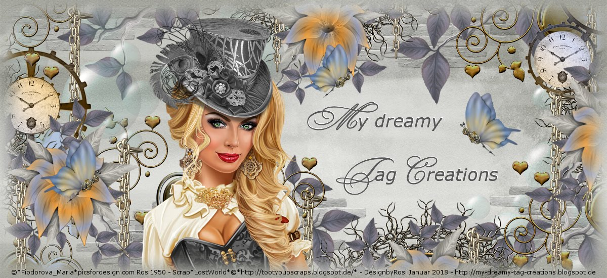 My dreamy Tag Creations