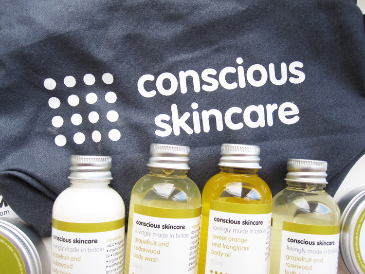 Conscious Skincare Indulgent Organic Mini Spa Set review