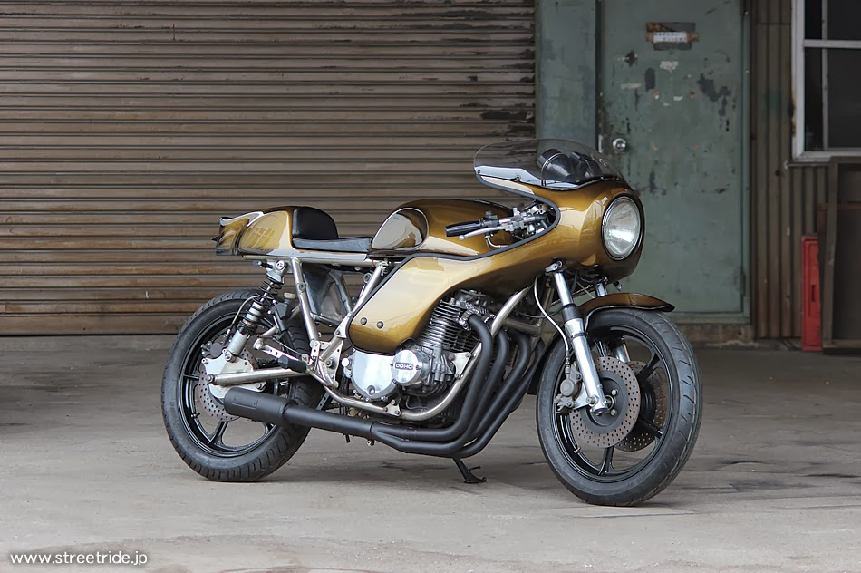 kawasaki z1000 rickman by moto cycle lsr bikes. Black Bedroom Furniture Sets. Home Design Ideas