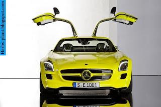 Mercedes sls front view - صور مرسيدس sls من الخارج