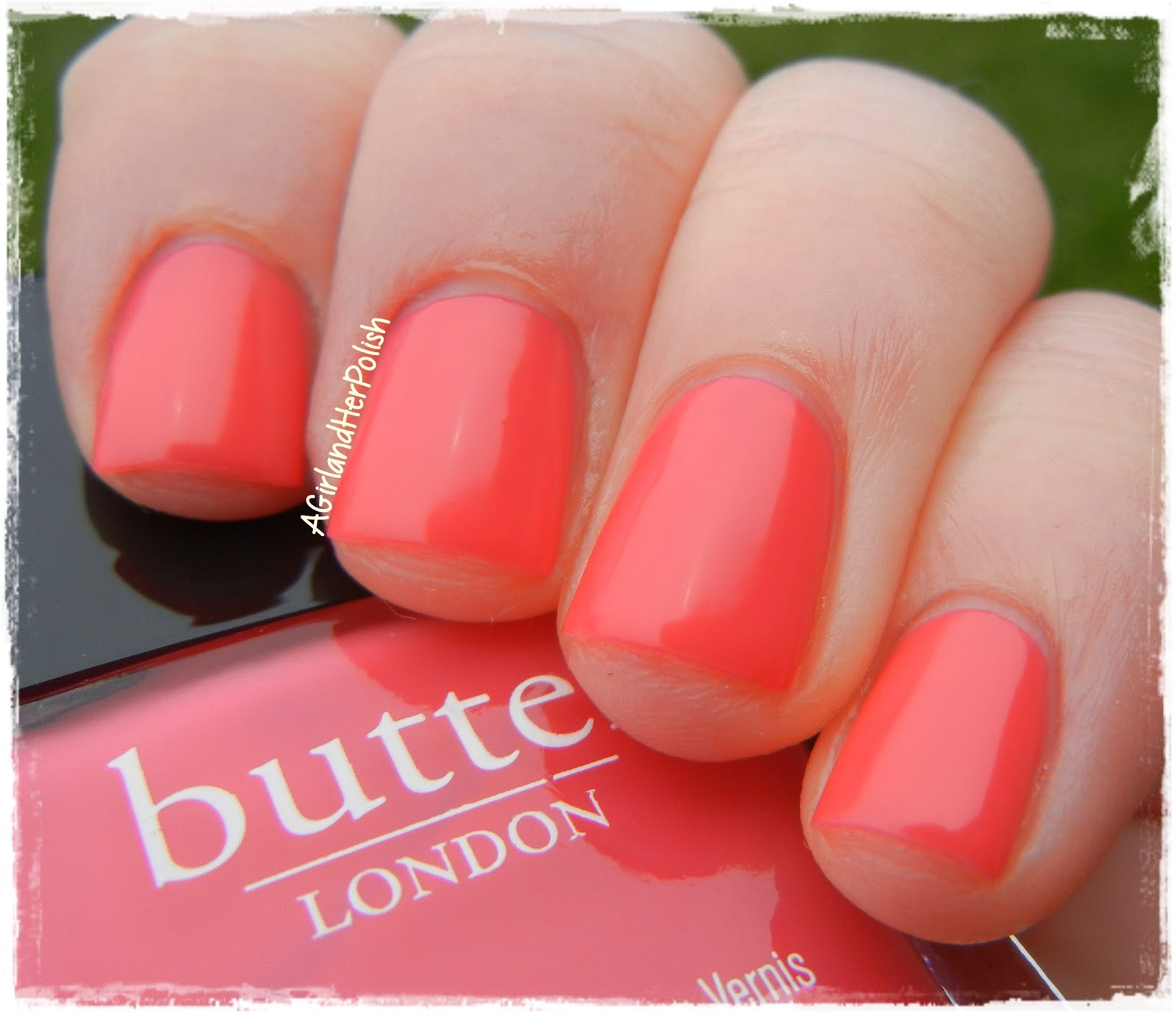 A Girl and Her Polish: butter LONDON Cake-Hole Swatches/Review