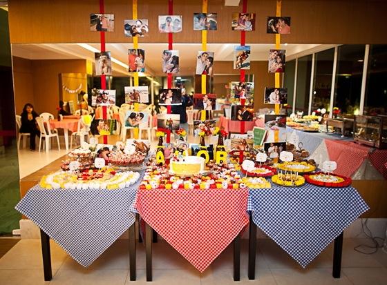 decoracao de um boteco:Até o dia do casamento: Como organizar um chá de panela